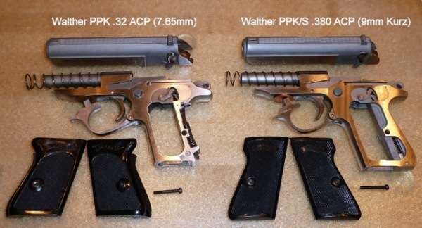 The Perfect Fashion Accessory—Walther PPK in  32 ACP   R
