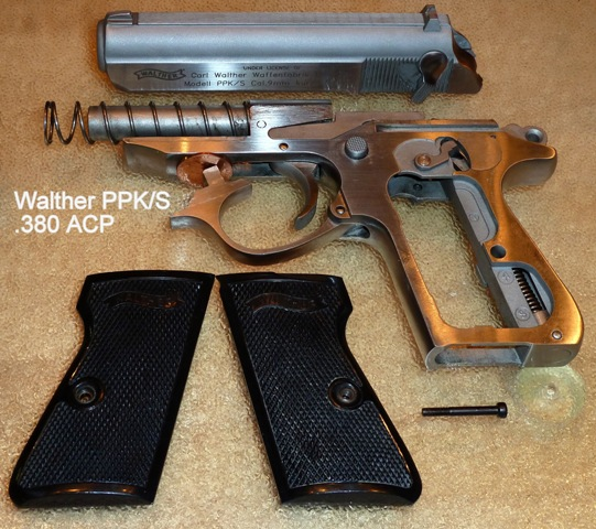 Disassembly Walther Ppk Accessory—walther Ppk in