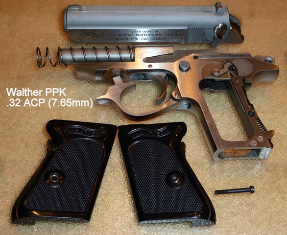 The Perfect Fashion Accessory—Walther PPK in  32 ACP | R