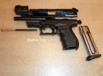 Walther P22 Disassembled View 1