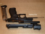 Walther P22 Disassembled View 2