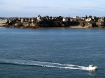 Across the bay from Saint-Malo
