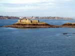 The approach to Saint-Malo