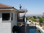 Balcony Grid Installation
