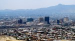 Downtown El Paso and the Juarez Mountains beyond