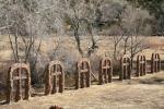 El Santuario de Chimayo—Grave Markers