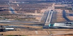 El Paso International Airport—Runways 8 Right and 8 Left clearly visible