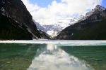Reflecting on Lake Louise