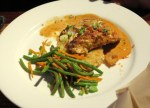 Crusted Cod with Coconut Curry Sauce