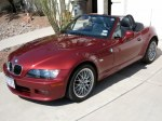 BMW Z3 — Top Down