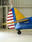 Boeing Stearman Tail in Training Colors