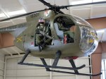 Hughes 500 Helicopter in Battle Dress