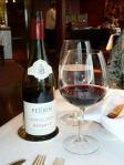 Don't forget the wine—Famille Perrin Côtes du Rhône, 2010