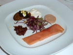 Le Trio-Caviar, Smoked Salmon, Pâté de foie gras