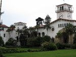 Santa Barbara Courthouse and sunken garden