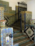 Courthouse tiled stairway