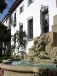 Courthouse fountain