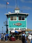 Fish and Chips Shop on the Pier