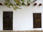 Old Doors and Windows in Traditional Adobe
