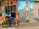 The Cyclist and the Outlaw (Billy the Kid)
