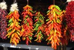 Multi-colored Ristras