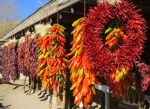 Chili Wreath and Traditional Ristras