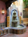 La Posta de Mesilla Fountain