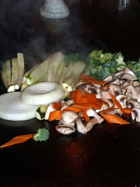 Fresh Vegetables . . .