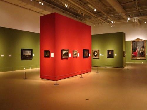 Rembrandt, Rubens, and European Painters Exhibit