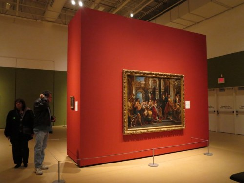 Rembrandt, Rubens, and European Painters Exhibit