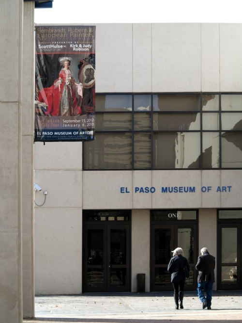 El Paso Museum of Art Entrance