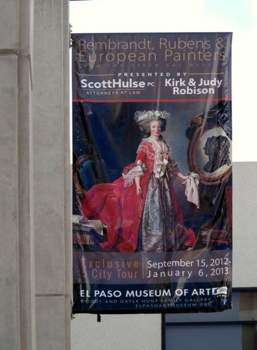 El Paso Museum of Art Exhibit Poster