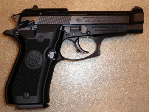 """Beretta 84FS """"Cheetah"""""""