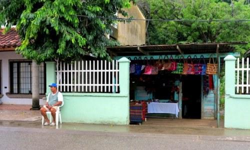 Resting in Roatán