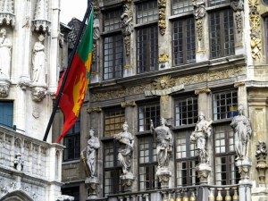 Showing the Colors — Grand Place, Brussels