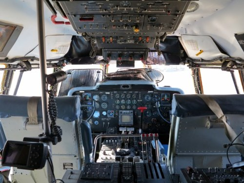 The cockpit remains much the same from the KC-97 days