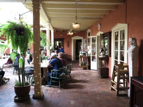 Courtyard at Peppers Cafe/Double Eagle