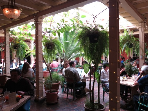 Courtyard at Peppers Café/Double Eagle