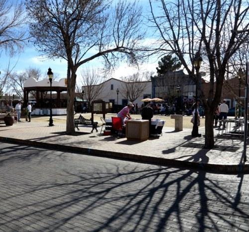 Mesilla Town Square