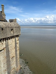 Mont St. Michel — Rule of Thirds
