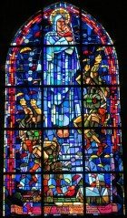 Paratroopers in Stained Glass