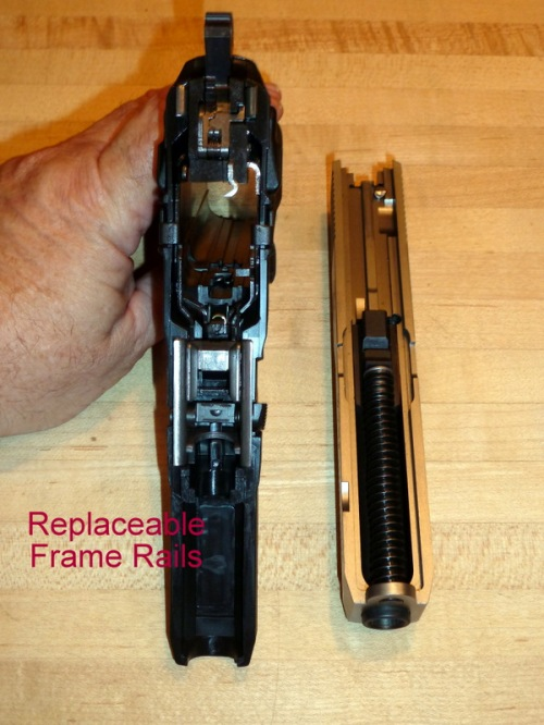 Replaceable Frame Rails
