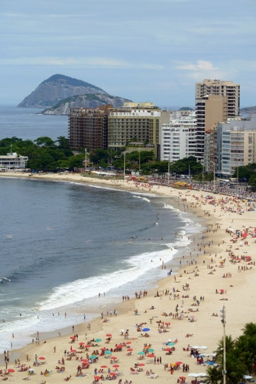 Rio Beach Looking South