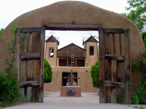 Gateway to Sanctuario de Chimayo
