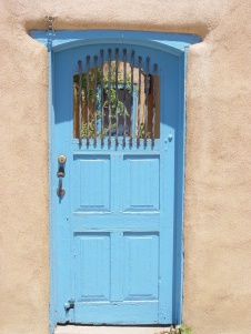 Taos Door in Blue