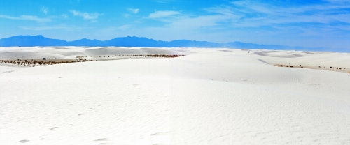 White Sands Panorama