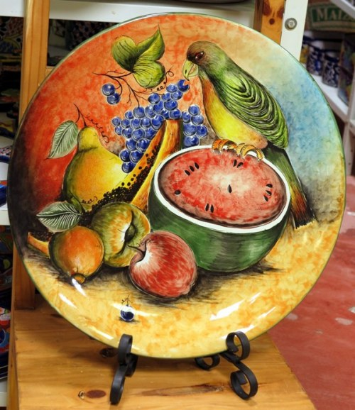 Decorated Serving Platters