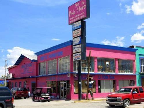 The Pink Store in Palomas, Mexico
