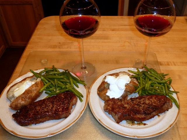 American-Style Steak And Potatoes | R. Doug Wicker — Author