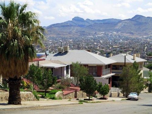 A View of Ciudad Juarez, Mexico, Beyond